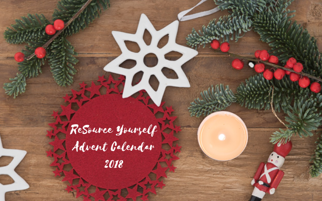 Sharing The Magic: The ReSource Yourself Advent Calendar